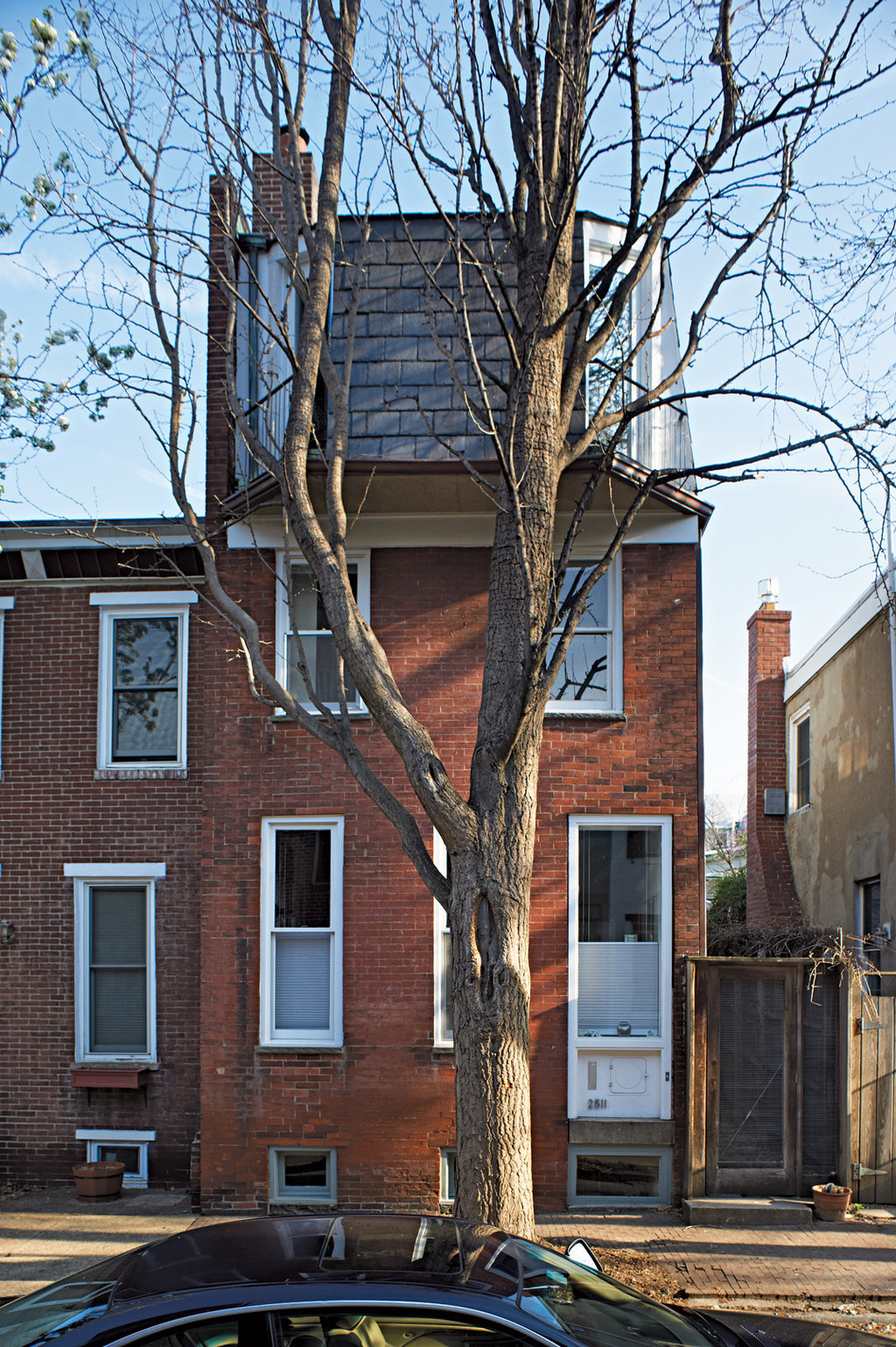 Tying added a third floor to her Philadelphia house. Annie Schlechter