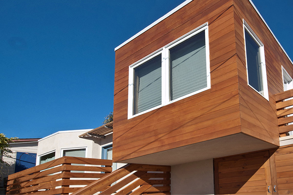 Exterior cantilever addition