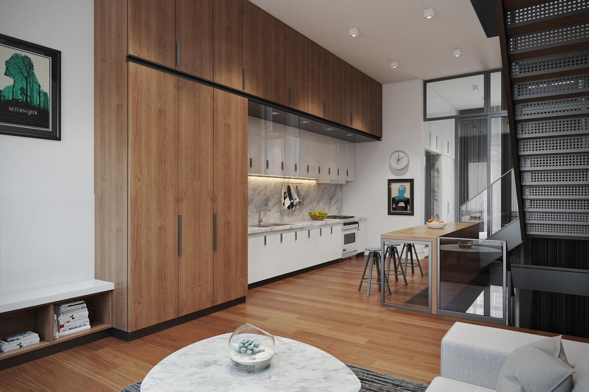 Second Level - Kitchen
