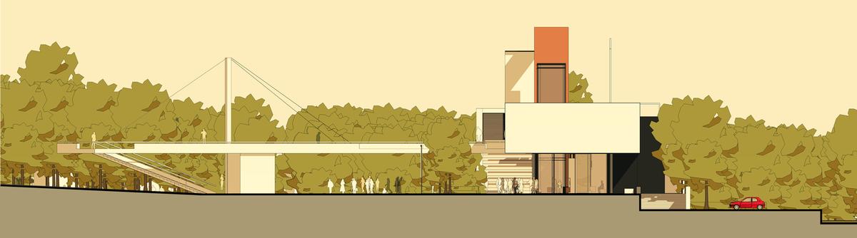 018 – ELEVATION  1/200 - Image Courtesy of ONZ Architects