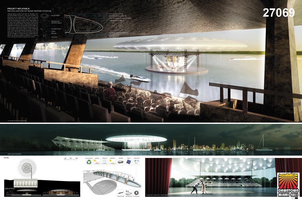 INFLATABLE: 2nd place: Eric Tan + Leon Lai Team: Pink Cloud.DK.Design Group Copenhagen, Denmark