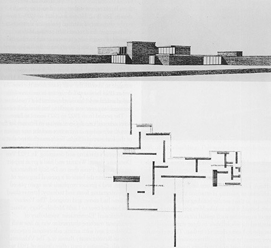 Mies van der Rohe, Brick Country House