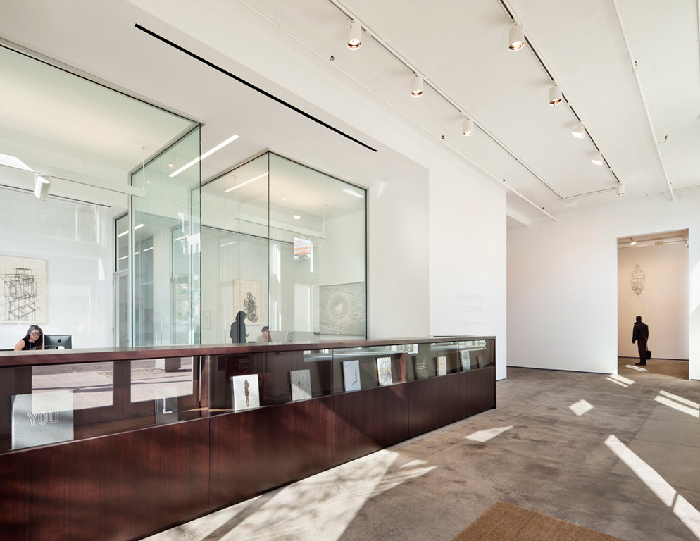 Interiors Honor Award Winner: Sean Kelly Gallery in New York, NY by Toshiko Mori Architect (Image Credit: © Michael Moran/OTTO)
