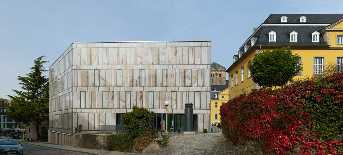 South side of library (Photo: Stefan Müller)