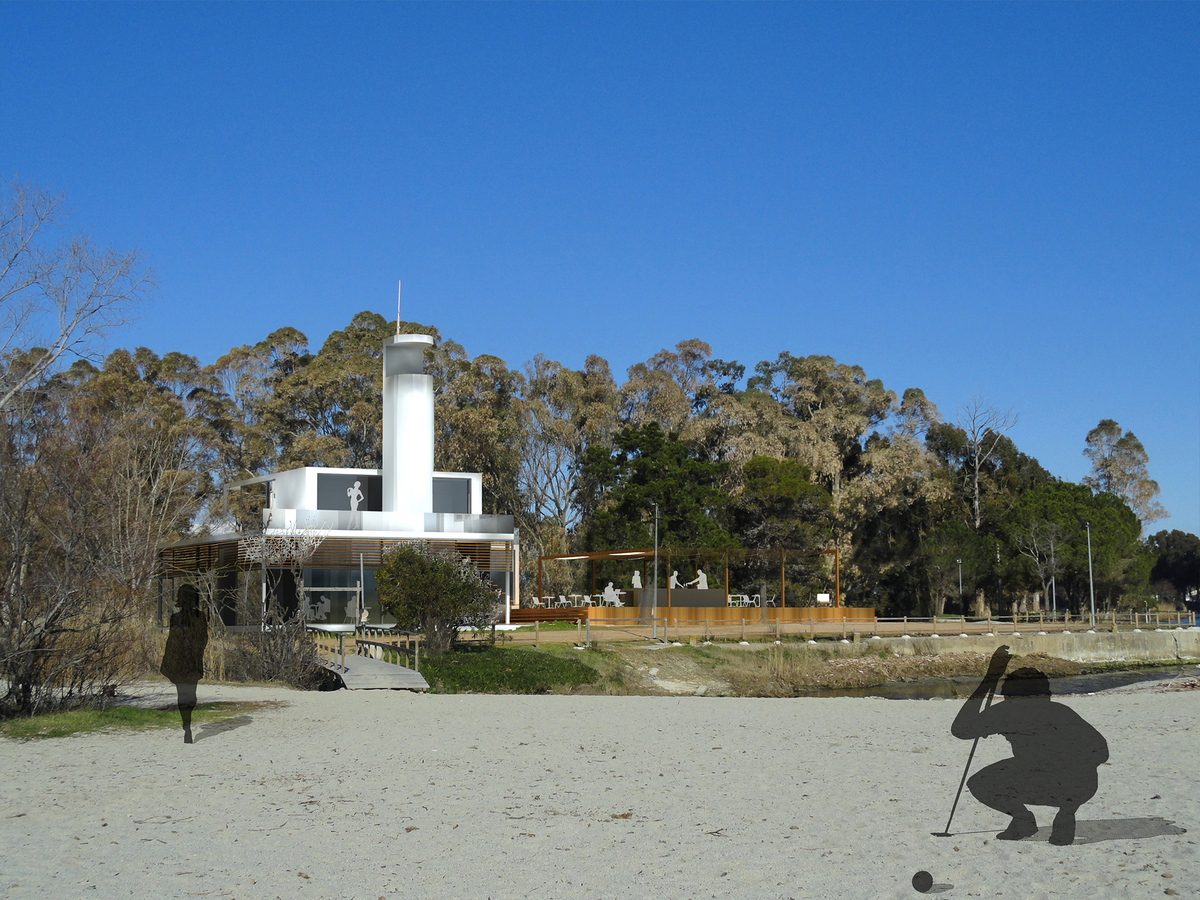 View from the beach 1.