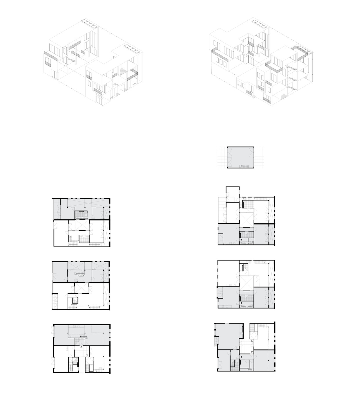 The Gamechanging architect, re-used carpentry shed - dwelling typologies