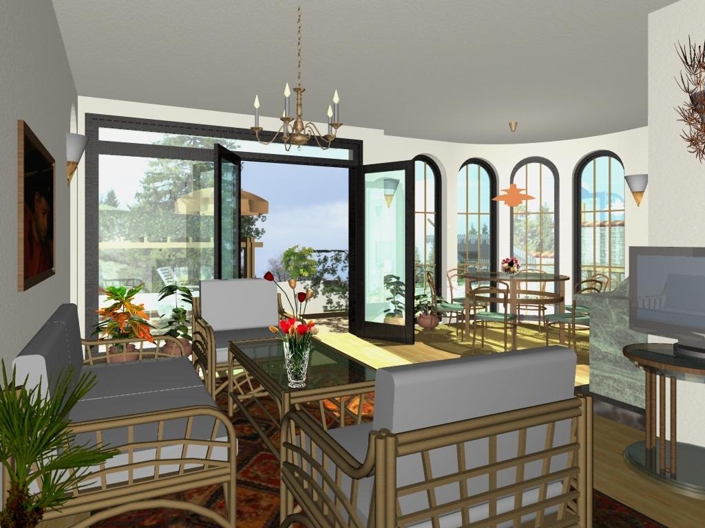 Private House Villa Kalina - visualization interior