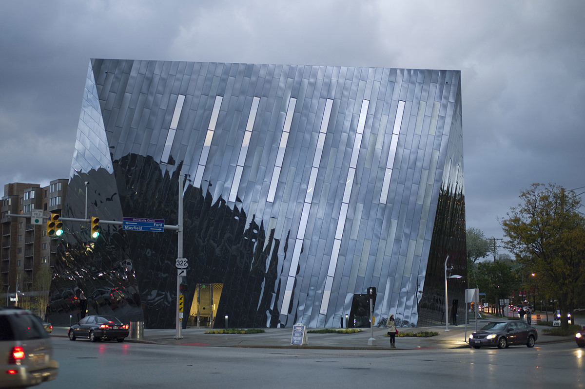 MOCA (Museum of Contemporary Art), Cleveland, OH by Farshid Moussavi Architecture