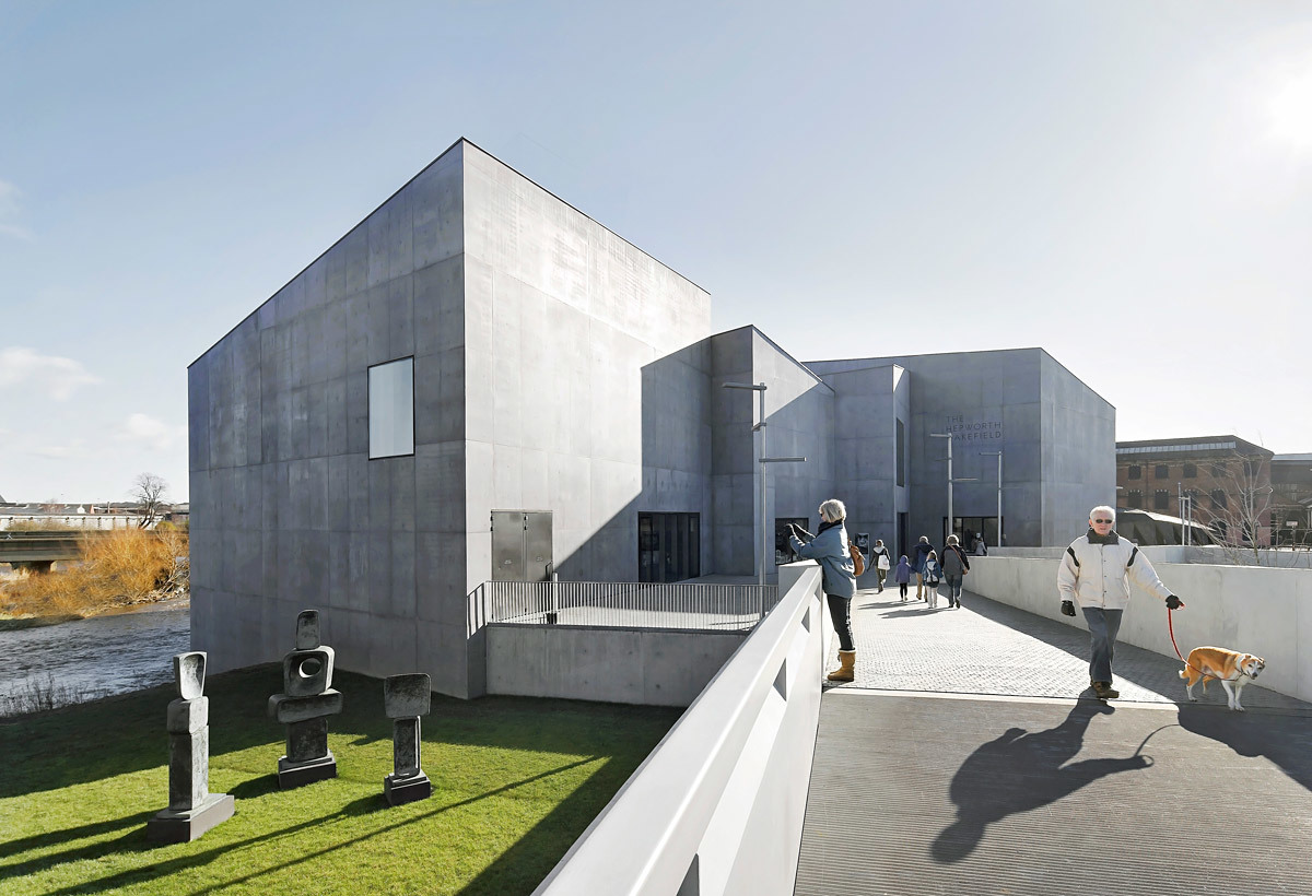 The Hepworth Wakefield, Yorkshire by David Chipperfield Architects (Photo: Hufton+Crow)