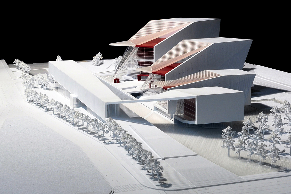 View from the street (Image: H Architecture & Haeahn Architecture)