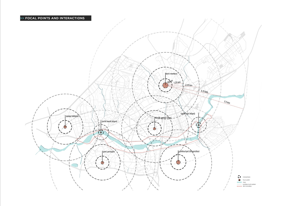 004 – SCHEMES | FOCAL POINTS & INTERACTIONS - Image Courtesy of ONZ Architects & MDesign