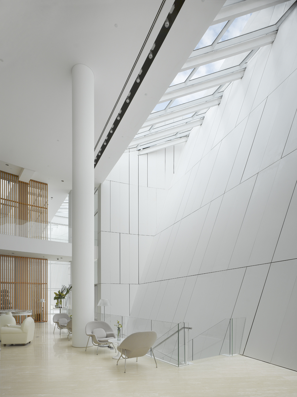 Interior of the OCT Shenzhen Clubhouse - Image courtesy Roland Halbe