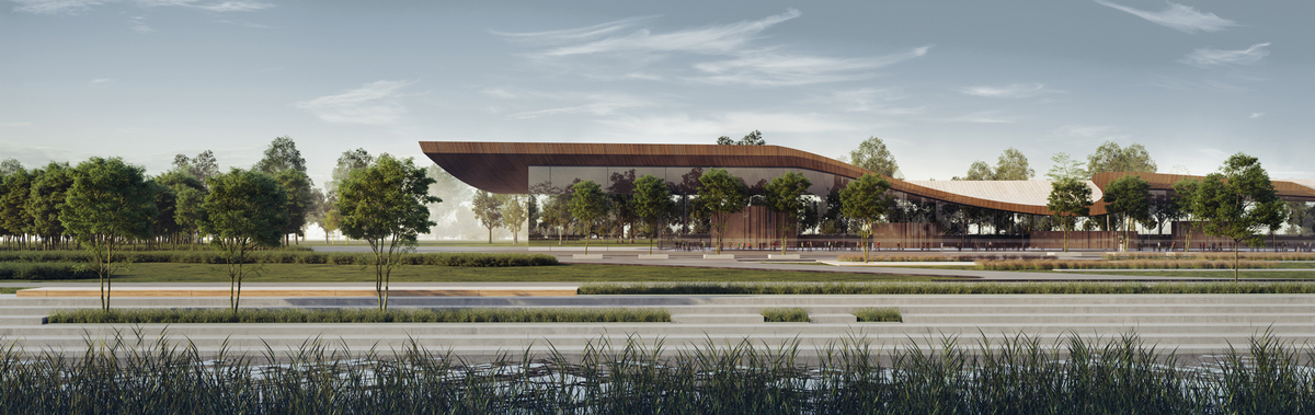 042 – FOCAL POINT 3 | PERSPECTIVE - Image Courtesy of ONZ Architects & MDesign