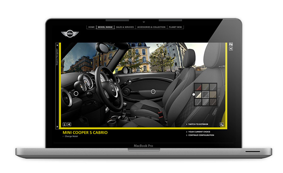MINI Cabrio Configurator, Car Configurator for the Mini Cooper Cabrio