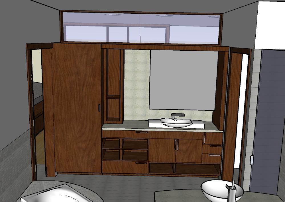 SD rendering of master bath