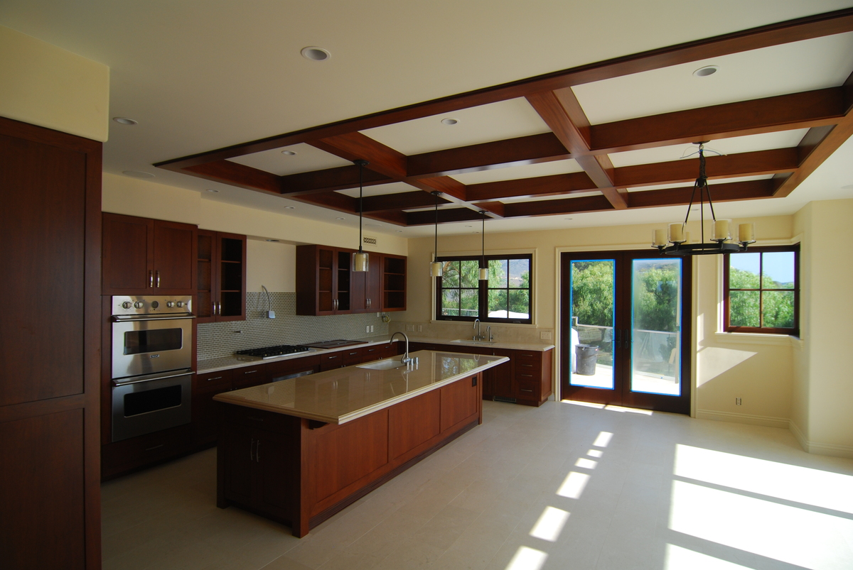 Kitchen of Main House - Completed Project