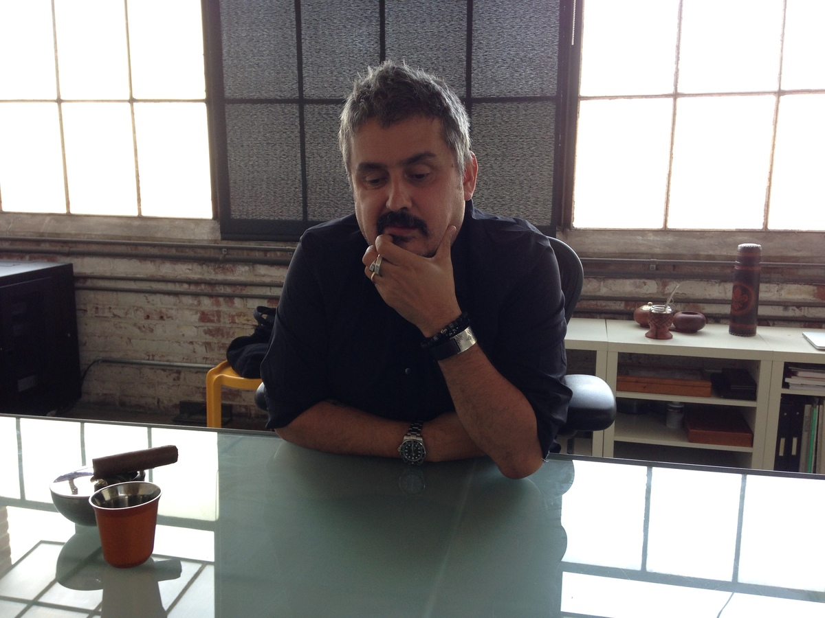 Diaz Alonso in his Xefirotarch office, Los Angeles. Photo credit: Amelia Taylor-Hochberg.
