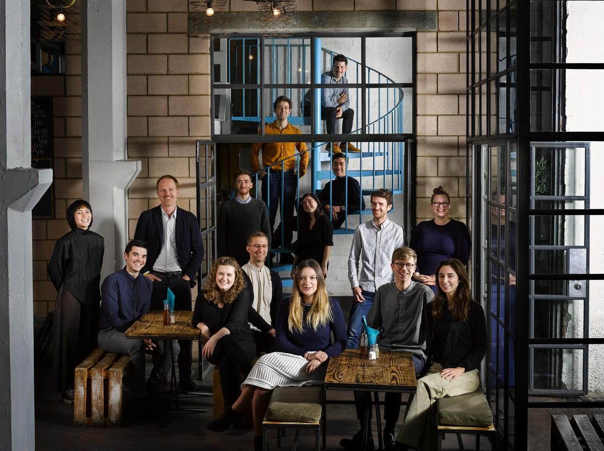 The David Kohn Architects team. Photo: Will Pryce.