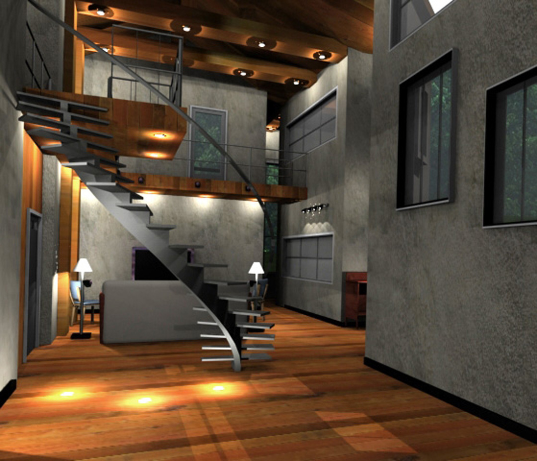 Interior House Rendering
