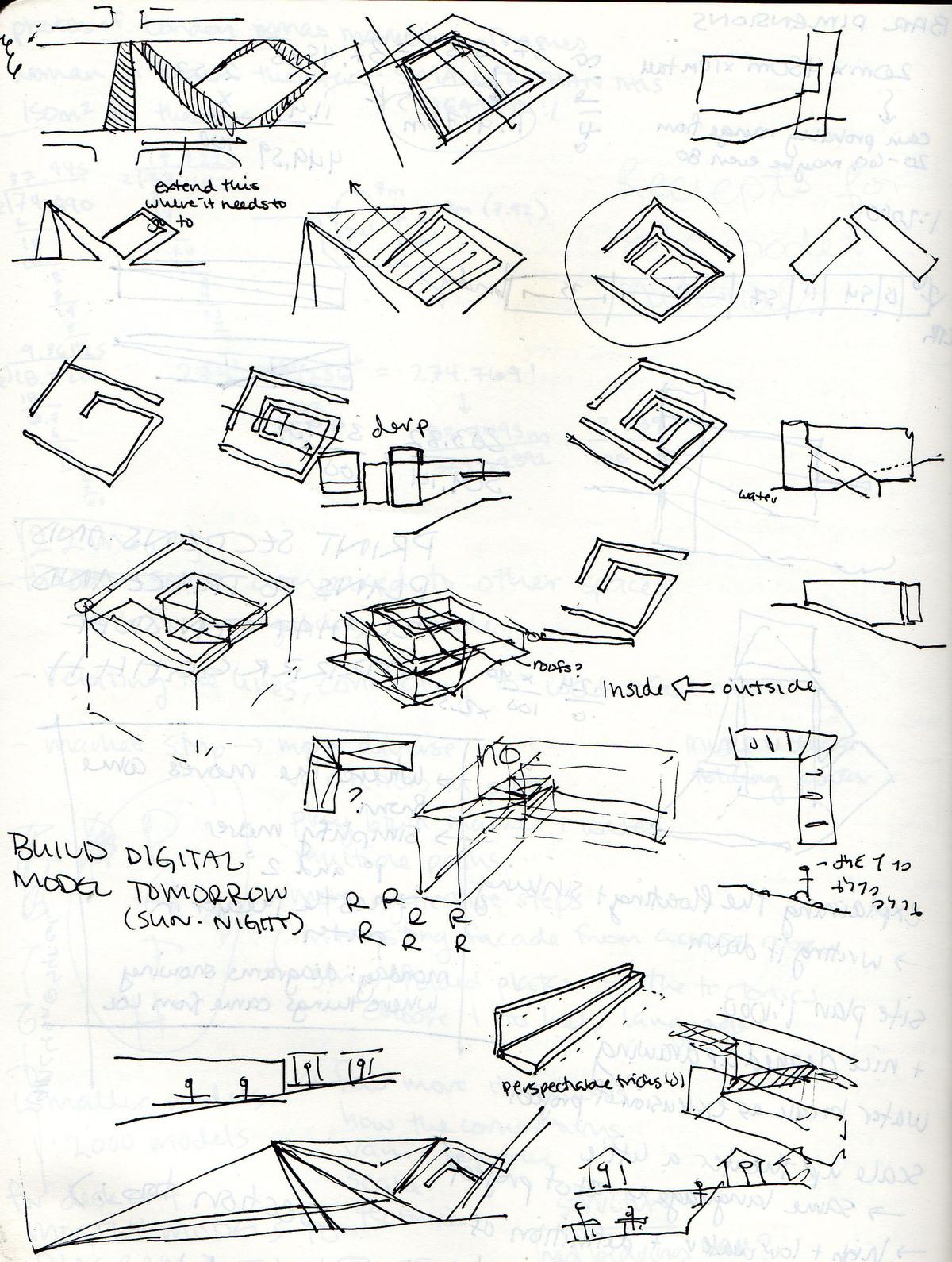 diagrammatic sketches