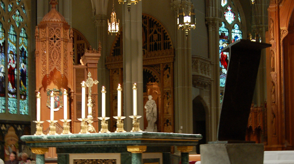 Unveiling at the Cathedral Basilica of the Assumption in Covington, KY