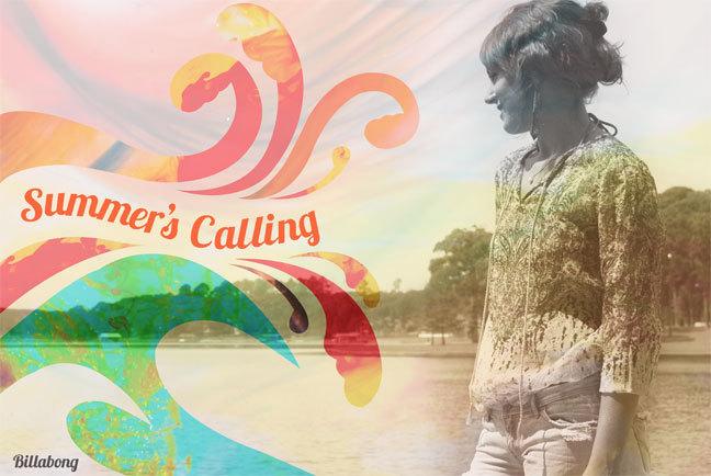 Summer's Calling Print Ad