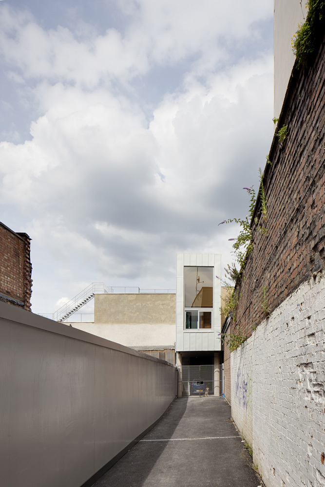 Cinematographer's House & Studio in Kilburn, London, UK by Inside Out Architecture