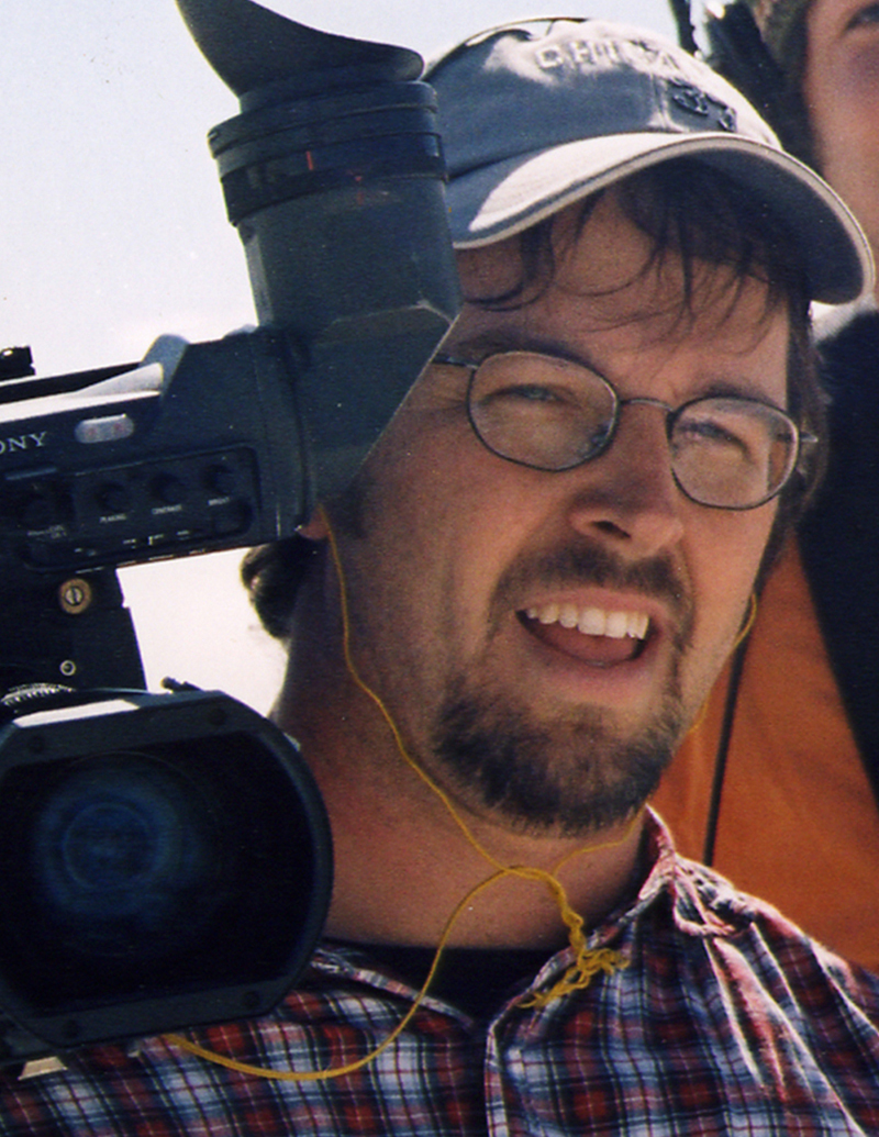 Director Patrick Creadon. From IF YOU BUILD IT, a Long Shot Factory Release 2013. Courtesy of O'Malley Creadon Productions.