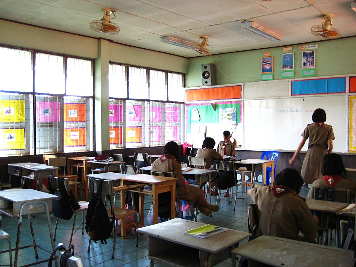 Ban Nam Yen School - Classroom