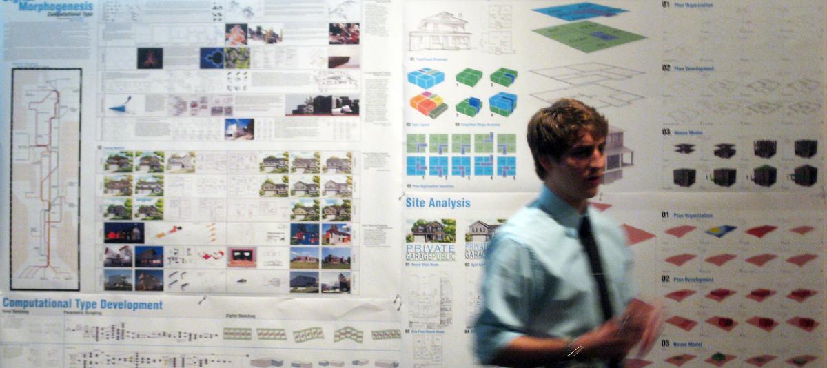 Design Thesis Reviews, Master of Architecture Program, University of Nebraska - Lincoln, April 2012