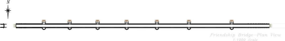 Companion Bridge Plan View (CAD)