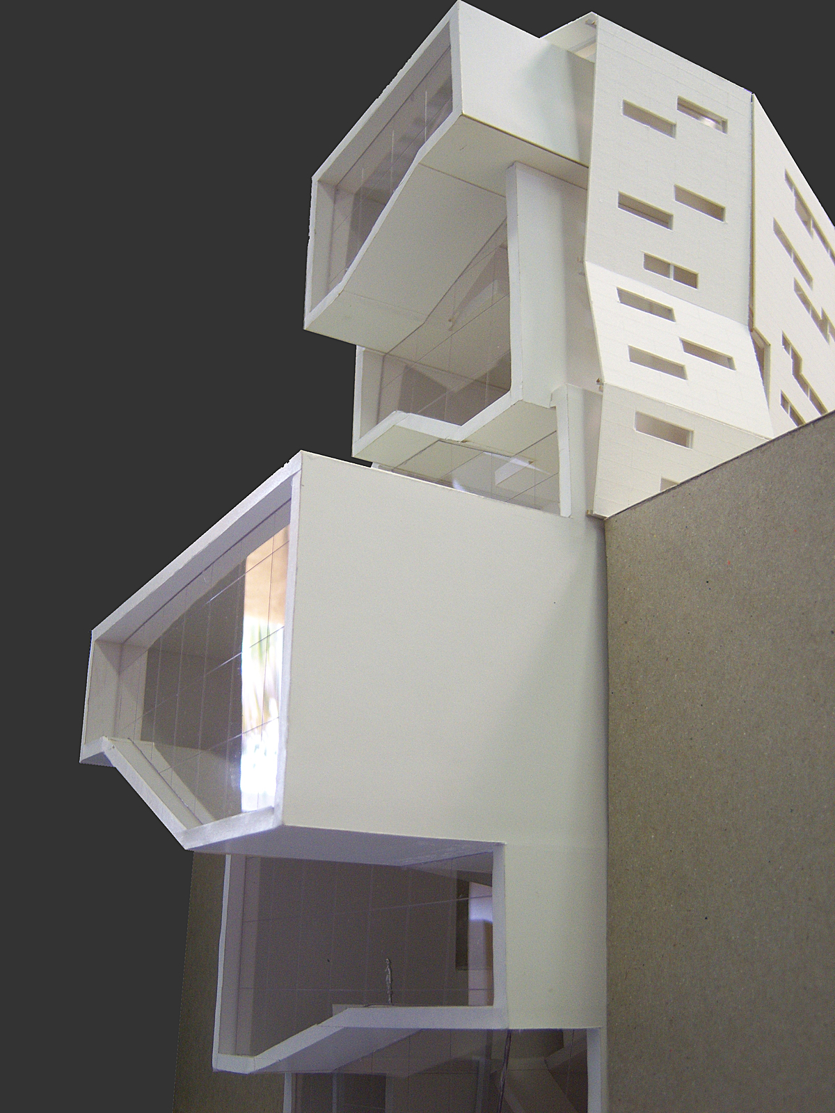 Model, 3rd Street South View