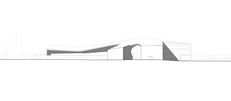 Facade NE (Image courtesy of Verstas Architects)