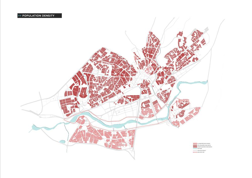 006 – SCHEMES | POPULATION DENSITY - Image Courtesy of ONZ Architects & MDesign