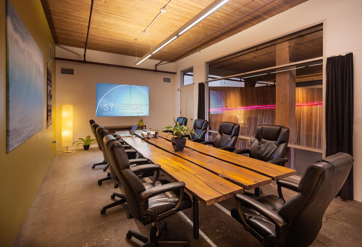 Conference Room + Alder Wood Table