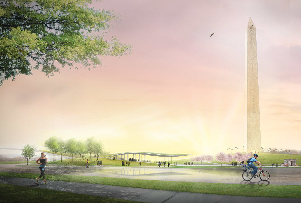 Winner Sylvan Theater on the Washington Monument Grounds: OLIN + Weiss/Manfredi