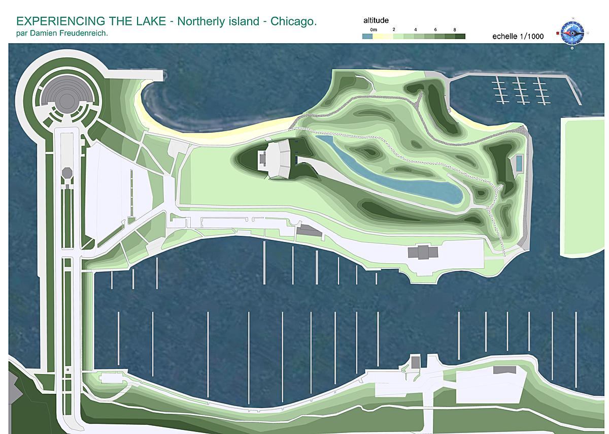 plan of Northlerly Island