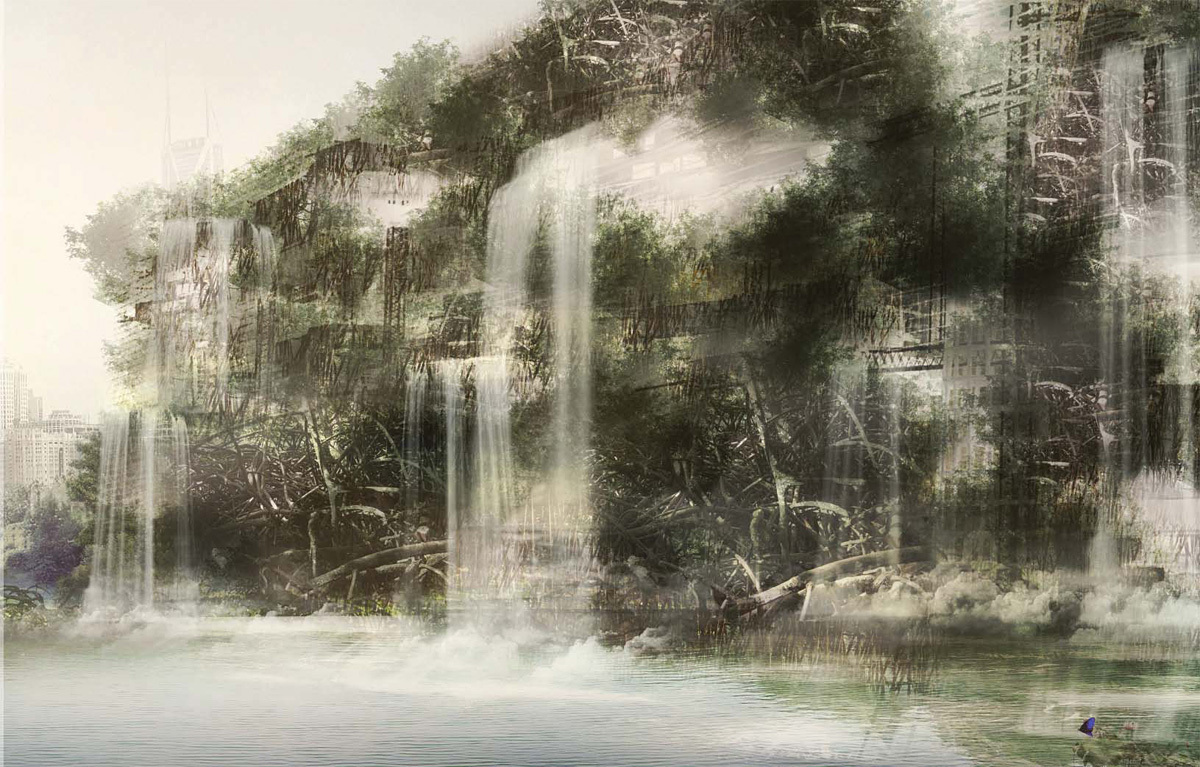 Special Mention: CONSTRUCTED ECOLOGY: Mangrove Village by Gun Ho Min, Young Baum Oh, Seung Il Kim, & Byung Woo Ahn (Korea)