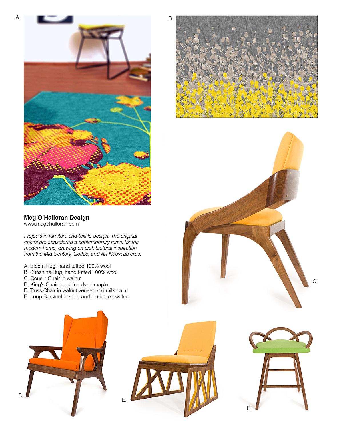 Original Furniture and Textile Design