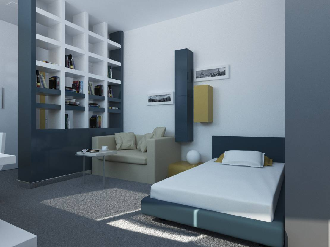 Typical hostel room