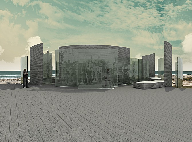 boardwalk perspective