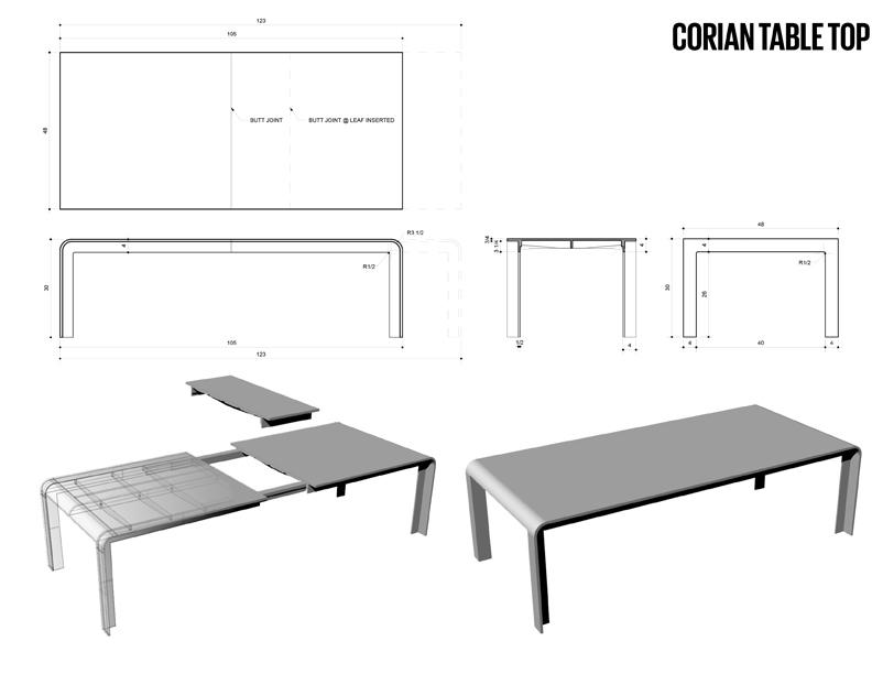 Corian Table Top NYC