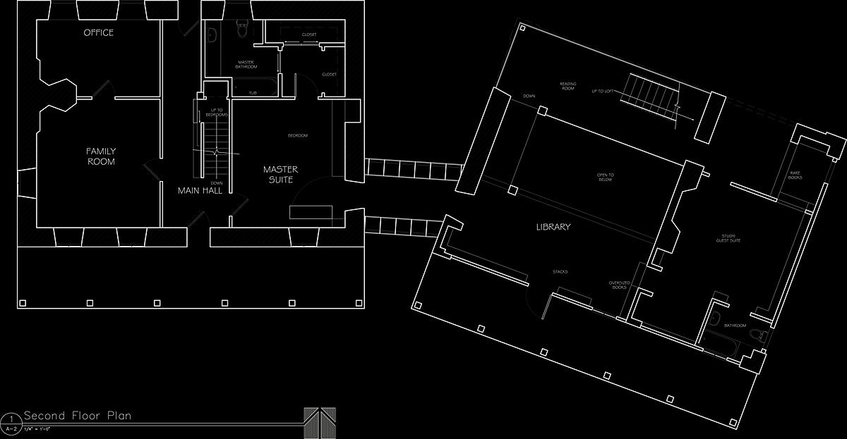 Second Floor Plan, Millerton House