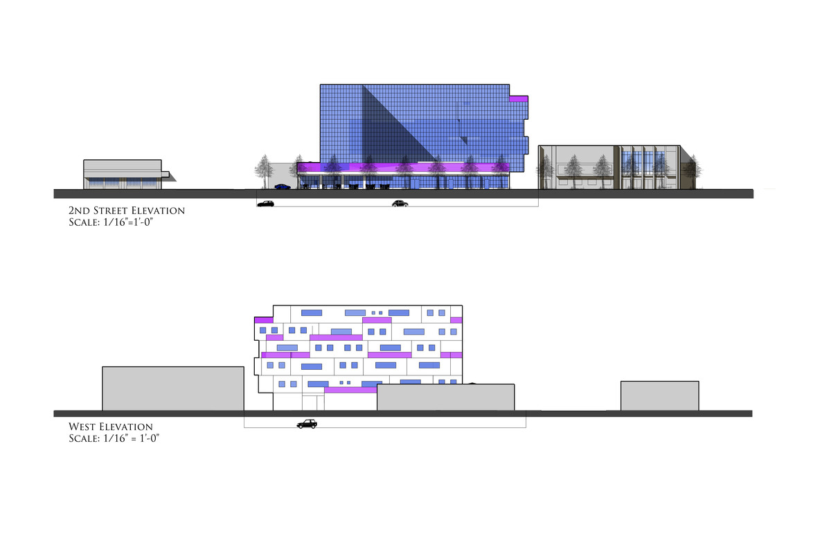 East/West Elevation - SketchUp
