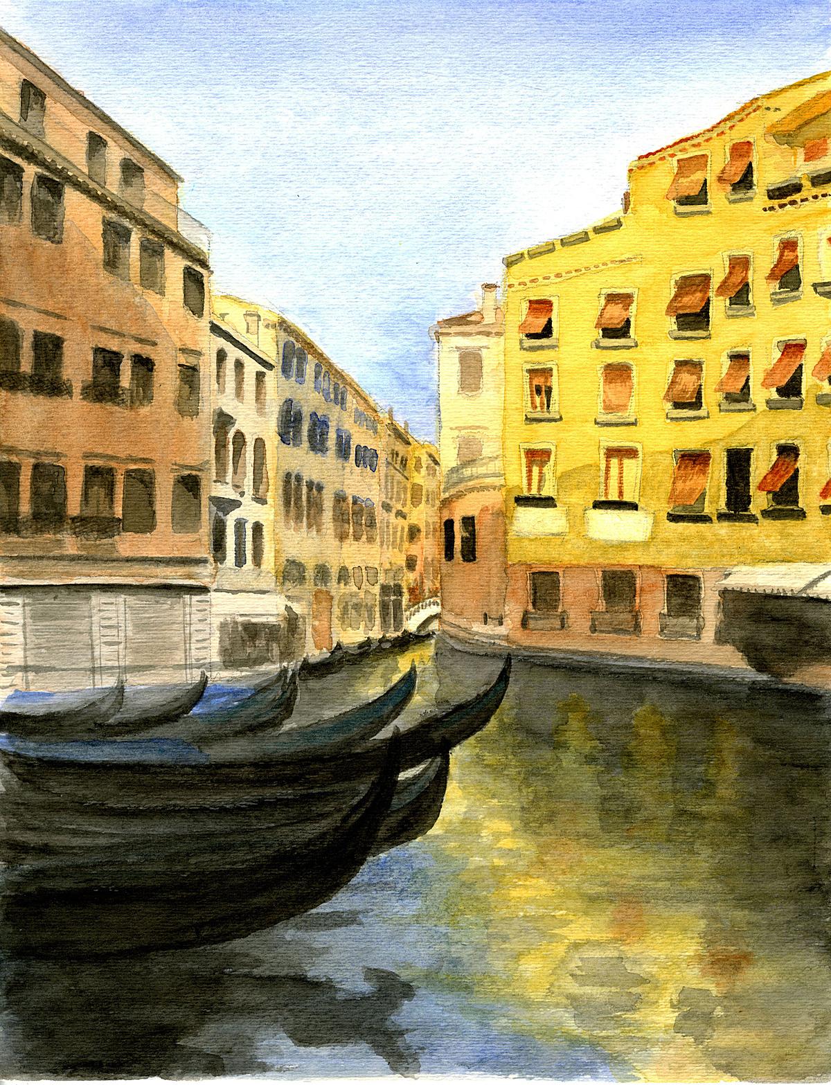 Watercolor, Venice