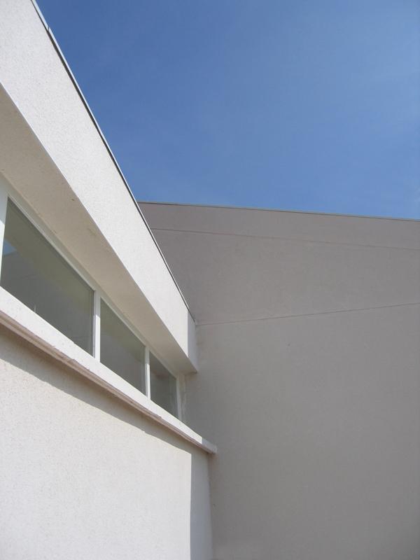 south facade detail