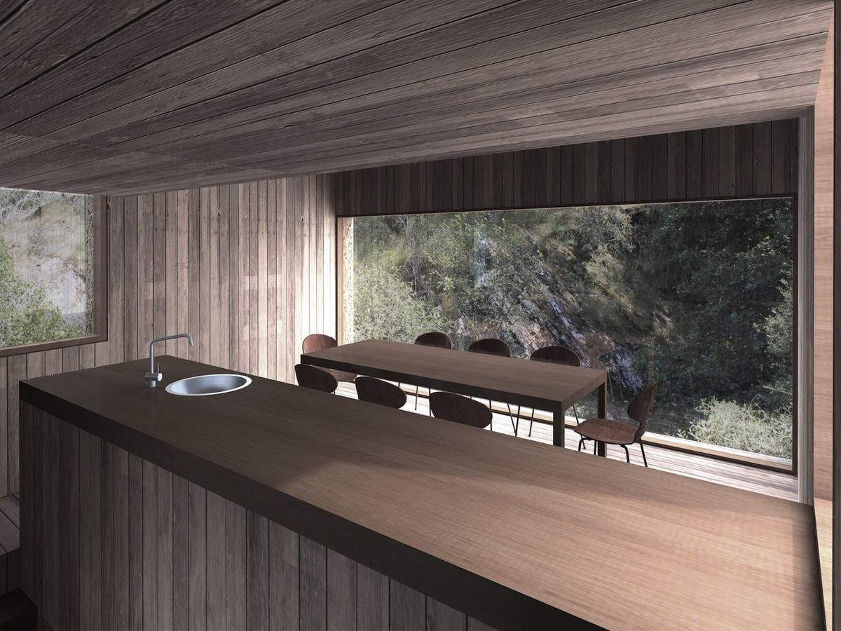 Hotel Unit Watermill interior