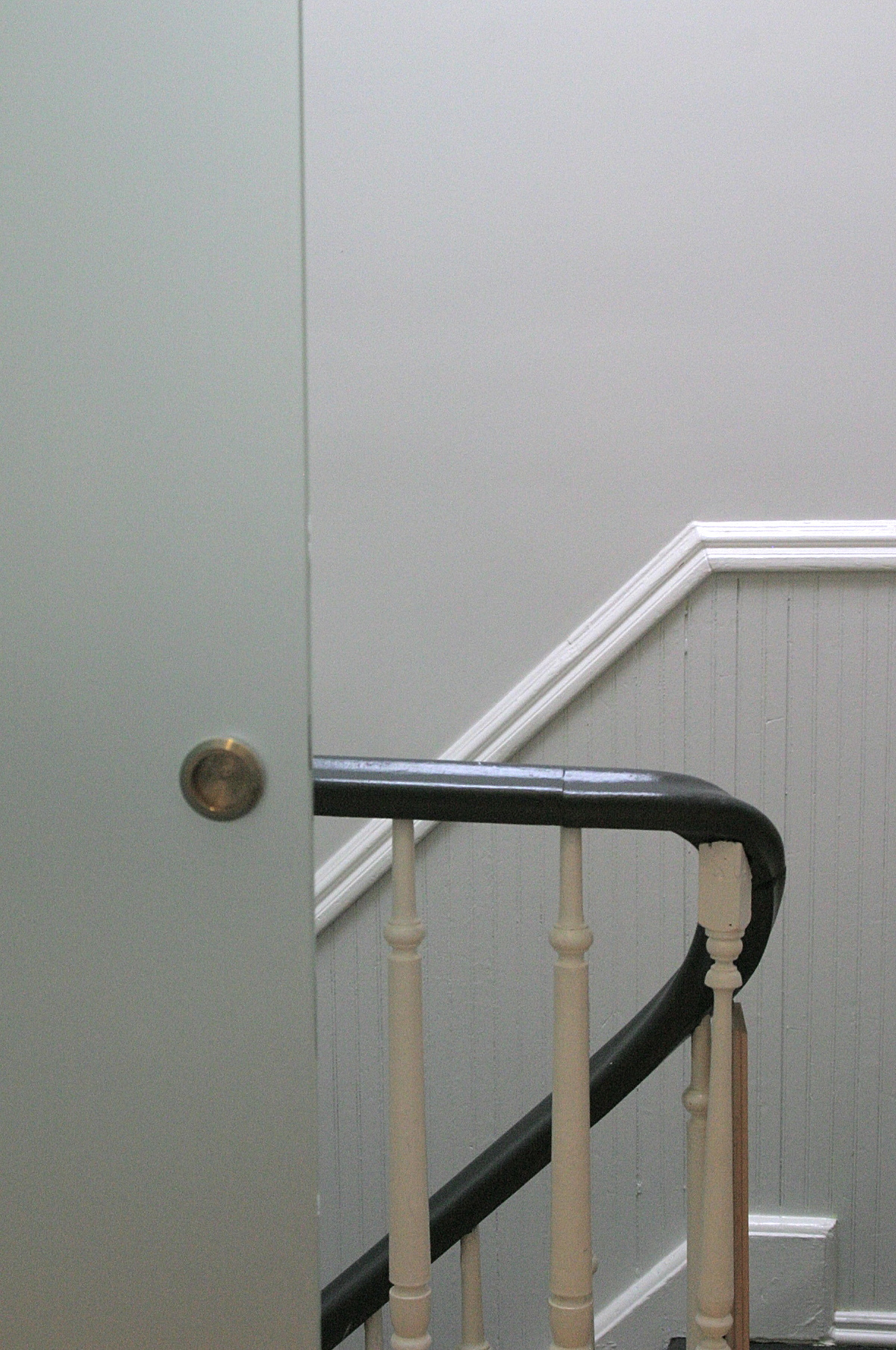 Door at stair detail