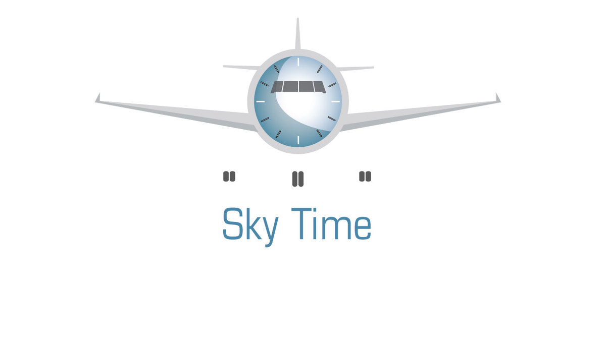 Mobile application re-design for Sky Time, an app for frequent fliers. App provides departure times and waiting times for TSA checkpoints.