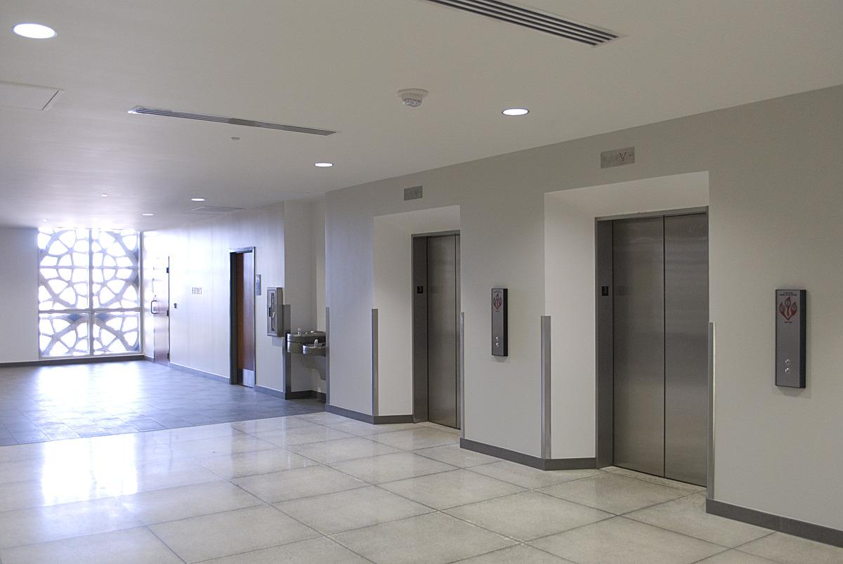renovated 3rd floor lobby